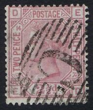 Numeral Cancellation Single Victorian (1840-1901) British Colony & Territory Stamps