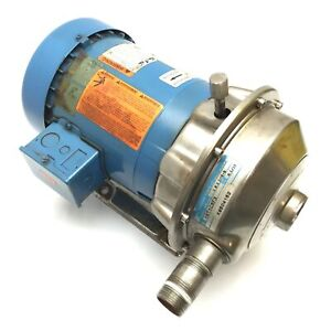G&L Pumps NPE 1ST1C5F3 Centrifugal Pump with Emerson BV20A Motor, 3-Phase