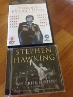 My Brief History by Stephen Hawking plus The Theory of Everything DVD