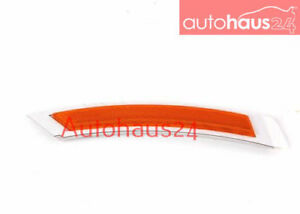 BMW E92 E93 3-SERIES COUPE CONV. FRONT BUMPER COVER LEFT REFLECTOR GENUINE OEM