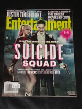 Entertainment Weekly EW magazine 2016, Suicide Squad, Margot Robbie, Jared Leto