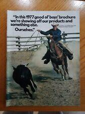 Vintage 1977 Cci Speer Rcbs Ammunition Brochure Good Ol Boys Omark Industries