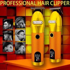 Professional Hair Clipper Trimmer Barber Electric Cutting Machine Men Cordless