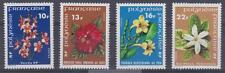 French Polynesia 1978-79  #300-03 Flowers (set of 4)- MNH