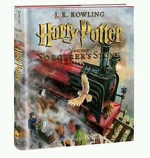 true 1st/1 Print Edition illustrated Harry Potter & the Sorcerer's Stone book Us