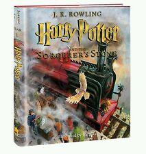 Harry Potter Sorcerer's Stone illustrated true 1st Edition/1 Print  2015