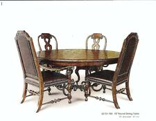 "Hooker brand ""Treviso"" 72"" Round Dining Table  only - Escondido, California"