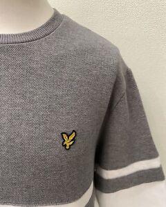 Lyle & Scott - Grey Mix Long Sleeved Round Neck Regular Fit Sweatshirt - XL