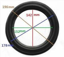 "High Quality 8"" 8inch 196mm Speaker Surround Repair Rubber Edge Replacement *"
