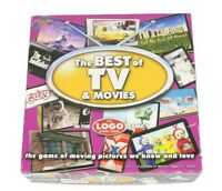 The Best of TV & MOVIES - LOGO Board Game - 100% Complete VGC