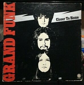 GRAND FUNK RAILROAD Closer to Home GateFold Album Released 1970 Record Vinyl USA