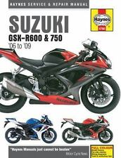 Suzuki GSX-R600 & 750 '06 to '09 (Haynes Service & Repair Manual), Haynes Manual