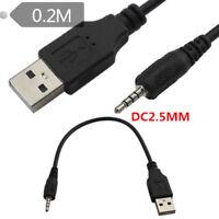 2.5mm USB CHARGING Power CABLE For JBL Synchros E40BT/E50BT Headphones J56BT 2ft