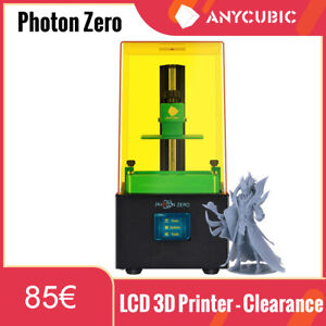 "ANYCUBIC Photon Zero Stampante 3D Printer UV Resina 2.8""TFT  anti-aliasing"
