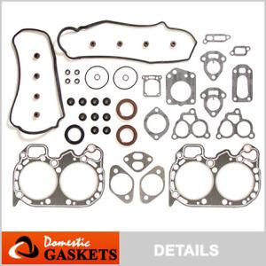 Fits 85-94 Subaru 1800 Loyale 1.8L SOHC Head Gasket Kit EA82T