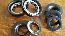 BMX Childs Mountain Bike BOTTOM BRACKET Bearings Set FOR ONE PIECE CRANKS new