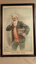 ORIGINAL 1891 TOM MERRY (WIlliam Mecham) WILLIAM BOOTH CARTOON SALVATION ARMY
