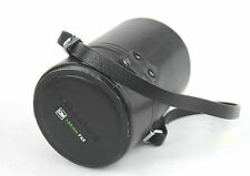 OLYMPUS LENS Case For 135mm OLYMPUS OM Lens. (CASE ONLY). Strap attached.