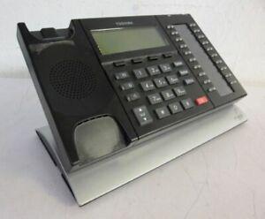 TOSHIBA IP5132-SD 20-BUTTON BACKLIT DISPLAY GIGABIT IP SPEAKERPHONE; NO HANDSET