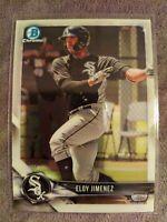 2018 Bowman Chrome Draft Eloy Jimenez Chicago White Sox Prospect Card #BDC168💥