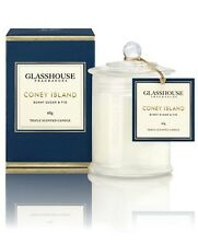 Glasshouse Candle 60g Mini - CONEY ISLAND - BURNT SUGAR & FIG - FAST POSTAGE