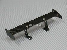 RC 1/10 Car Accessories CARBON FIBER Single WING SPOILER  For DRIFT Touring Cars