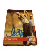Steve Pate #77 1992 Pro Set Golf AUTO