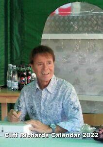Cliff Richard Calendar Portrait A4  2022
