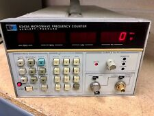 HP AGILENT KEYSIGHT 5343A MICROWAVE FREQUENCY COUNTER 10Hz - 26.5GHz