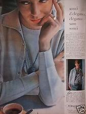 PUBLICITÉ 1960 GUI A CHOISI COURTELLE POUR CE TWIN--SET - ADVERTISING