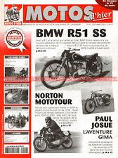 MOTOS D'HIER  92 BMW R51 SS R 51 Tour de France de 1931 NORTON Paul JOSUE