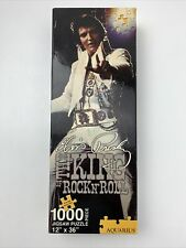 "Elvis Presley King of Rock N Roll 1000 Piece Jigsaw Puzzle 12"" x 36"""