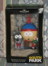 New South Park Stan and Sparky Christmas Holiday Ornament Kurt Adler 2015 USA