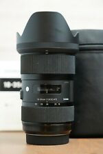 Sigma 18-35mm F1.8 DC HSM ART Zoom Lens for SONY A-Mount with HOOD, BOX & CASE