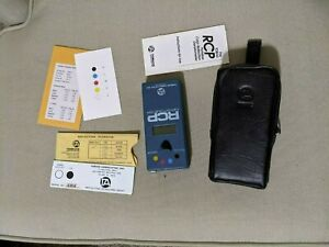Great Condition Tobias RCP Color Densitometer with case, standards, and manual!