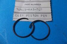 NOS Honda CR 480 450 500 XR400 TRX500 VTX1300 VT1300 CBR1000 Piston Clip Qty2