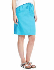 Marks and Spencer Knee Length Linen Casual Skirts for Women