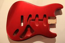 Göldo Strat Statocaster Body US red alder Erle CAR candy apple red Gitarrenbau