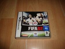 FIFA 07 NTR-AF7P-ESP DE EA GAMES PARA NINTENDO DS USADO COMPLETO