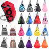 Outdoor School Drawstring Bag Sport Gym Sack Swim PE Book Shoes Sports Backpack