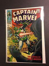 Captain Marvel #7 NM High-Grade  Quasimodo