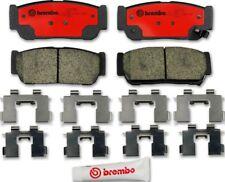 Disc Brake Pad Set-Premium NAO Ceramic OE Equivalent Pad Rear Brembo P30049N