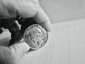 1923 SILVER PEACE DOLLAR COIN