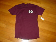 Mississippi State BULLDOGS GIVE-EM-BELL   Jansport  T-Shirt   NEW  .  .   SMALL
