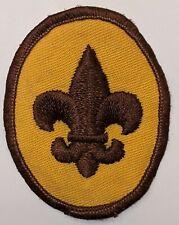 1970s Boy Scout Badge Emblem Patch Bsa Discontinued 2015 now Scout Rank