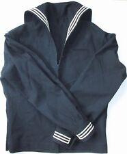 Military Us Navy wool uniform shirt top stripe bib eagle patch 38