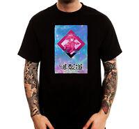 Anime Japanese Vaporwave Future Art Trendy Printed Cotton Men's T-Shirt Top Tee