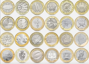CHEAP £2 TWO POUND COINS SCARCE COMMONWEALTH OLYMPIC MARY ROSE KING JAMES BIBLE