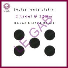CITADEL ROUND BASES SOCLES RONDS WARHAMMER 40,000 AOS GAMMING ACCESSORIES