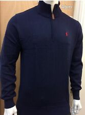 BRAND NEW RALPH LAUREN HALF ZIP JUMPER FOR MEN GORGIOUS FOR WINTER